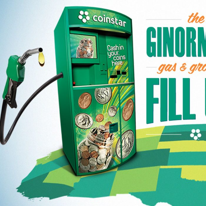 Coinstar Ginormous Sweepstakes