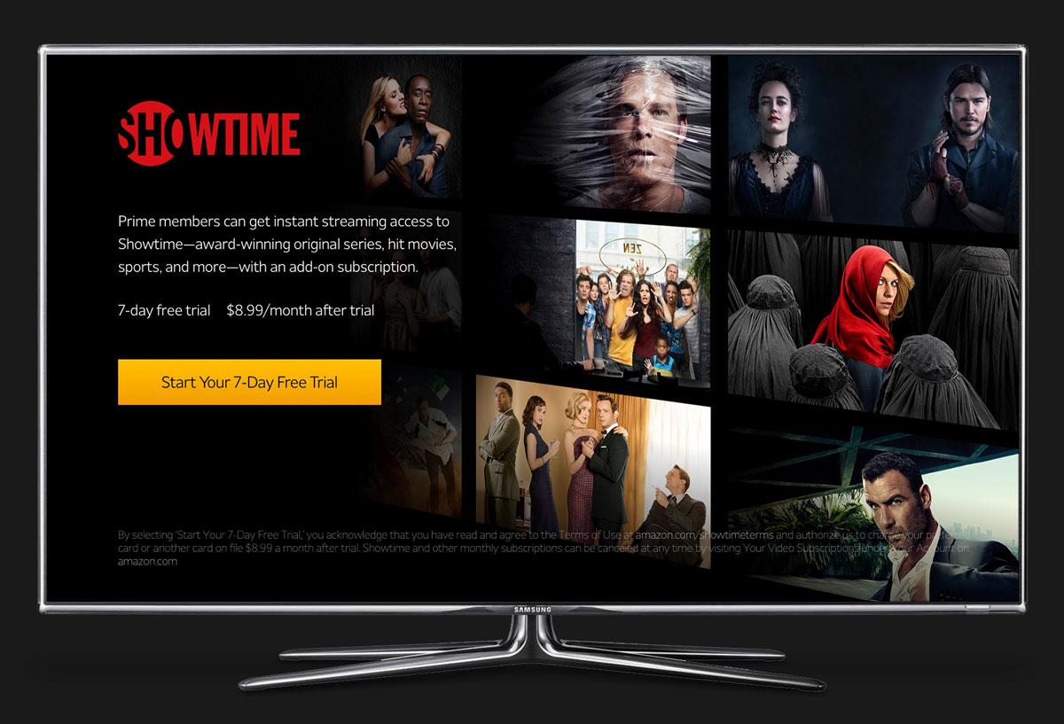 Amazon Video Subscriptions – Marcus Pape | Purposeful Design