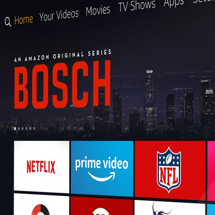 Amazon Fire TV Redesign
